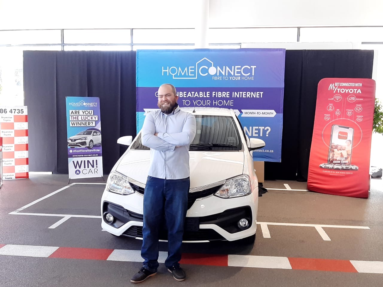 Win A Car – The Vehicle Handover